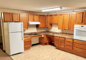 Mission Towers Apartments kitchen renovated by BWK Construction