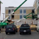 BWK crew working at 839 Merrimack Street, Lowell, MA