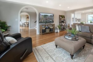 Residence renovation - living room